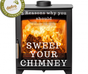 5 Reasons to get your chimney swept